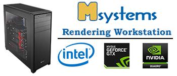 Msystems Rendering Workstation