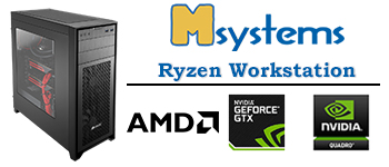 Msystems Ryzen Workstation