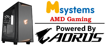 Msystems Powered By Aorus AMD Gaming