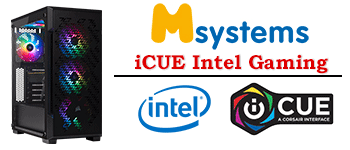 Msystems Powered By iCUE Intel Gaming