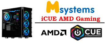 Msystems Powered By iCUE AMD Gaming